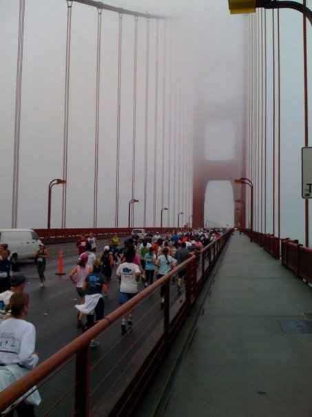 A Lucky Duck & The SF Marathon