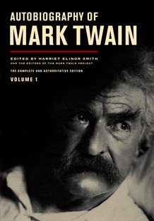 Autobiography of Mark Twain, UCal Press cover
