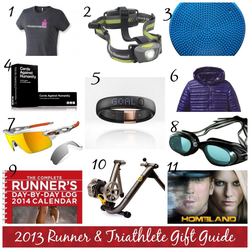 2013 Runner & Triathlete Holiday Gift Guide