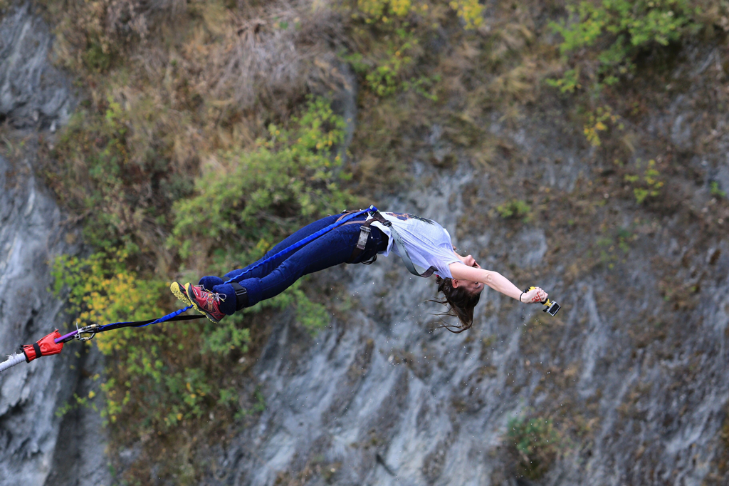 Twenty-Six and Then Some - New Zealand Bungee Jump