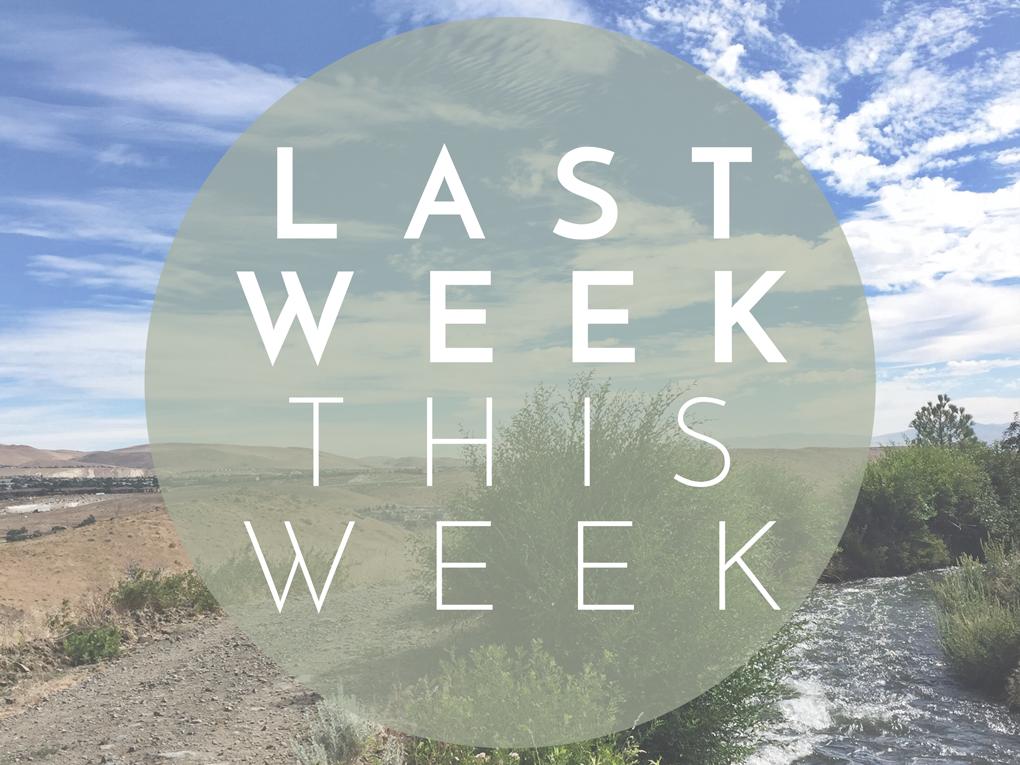 Last Week This Week: The Reno Parenting Adventure