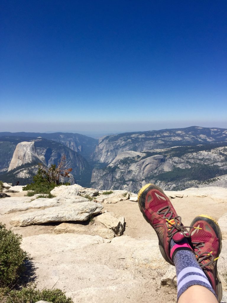 Hiking Clouds Rest, Yosemite
