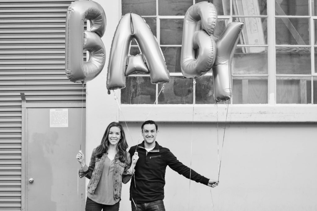Page & Josh Baby Announcement Twenty-Six & Then Some