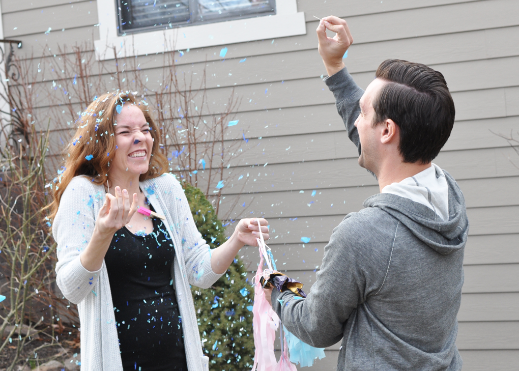 Shouting From The Rooftop: IT'S A BOY!