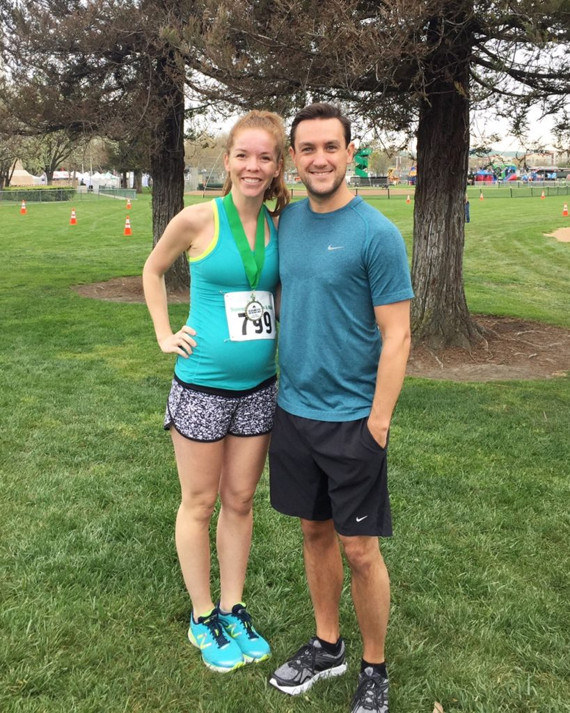 Running While Pregnant & The Dublin Shamrock 5K